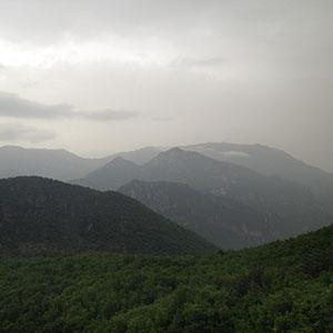 Rain near Bouyon, France